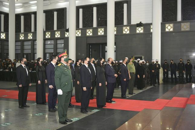 Tổ chức trọng thể Lễ viếng, truy điệu Đại tướng Phùng Quang Thanh - Ảnh 3.