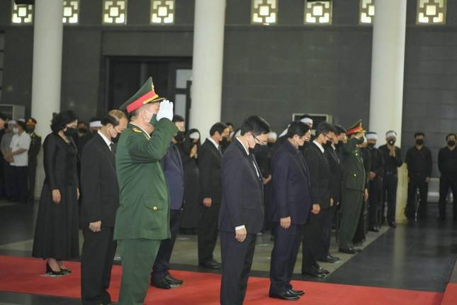 Tổ chức trọng thể Lễ viếng, truy điệu Đại tướng Phùng Quang Thanh - Ảnh 4.