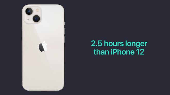 iPhone 13 và iPhone 13 mini chính thức: Tai thỏ gọn hơn, camera có chống rung cảm biến, Apple A15, giá từ 699 USD - Ảnh 13.