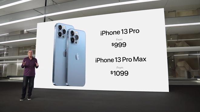 iPhone 13 Pro và iPhone 13 Pro Max chính thức ra mắt: Màn hình ProMotion 120Hz, bộ nhớ trong 1TB, quay video xoá phông, thêm màu xanh Sierra Blue - Ảnh 13.