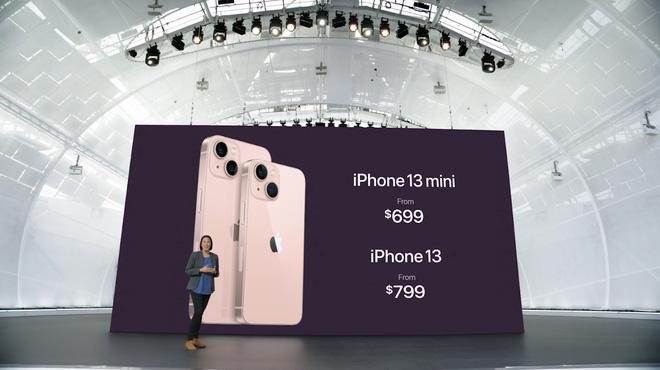 iPhone 13 và iPhone 13 mini chính thức: Tai thỏ gọn hơn, camera có chống rung cảm biến, Apple A15, giá từ 699 USD - Ảnh 16.