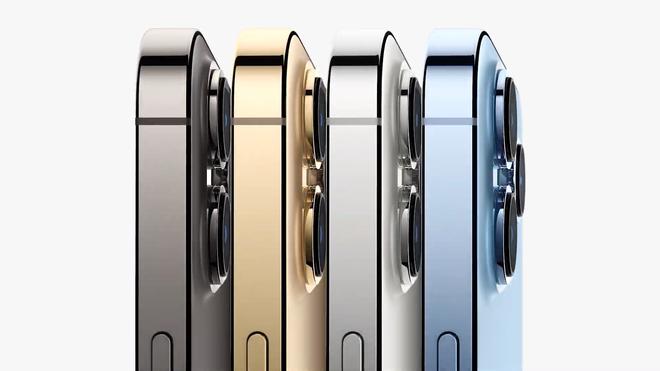 iPhone 13 Pro và iPhone 13 Pro Max chính thức ra mắt: Màn hình ProMotion 120Hz, bộ nhớ trong 1TB, quay video xoá phông, thêm màu xanh Sierra Blue - Ảnh 3.