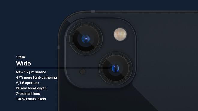 iPhone 13 và iPhone 13 mini chính thức: Tai thỏ gọn hơn, camera có chống rung cảm biến, Apple A15, giá từ 699 USD - Ảnh 7.