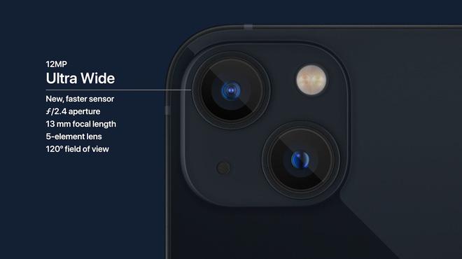iPhone 13 và iPhone 13 mini chính thức: Tai thỏ gọn hơn, camera có chống rung cảm biến, Apple A15, giá từ 699 USD - Ảnh 8.