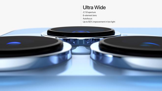 iPhone 13 Pro và iPhone 13 Pro Max chính thức ra mắt: Màn hình ProMotion 120Hz, bộ nhớ trong 1TB, quay video xoá phông, thêm màu xanh Sierra Blue - Ảnh 9.