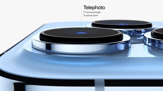 iPhone 13 Pro và iPhone 13 Pro Max chính thức ra mắt: Màn hình ProMotion 120Hz, bộ nhớ trong 1TB, quay video xoá phông, thêm màu xanh Sierra Blue - Ảnh 10.