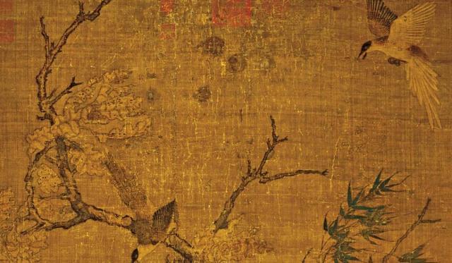 Phóng to bức họa mùa thu, thấy 8 chữ khắc trên thân cây, hậu thế truy ngay ra lai lịch bức tranh: Có 1 vụ bê bối chấn động Tống triều - Ảnh 6.