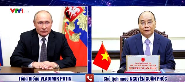 Đề nghị quan trọng của Chủ tịch nước Nguyễn Xuân Phúc với ông Putin và lời hứa chắc nịch của Tổng thống Nga - Ảnh 1.