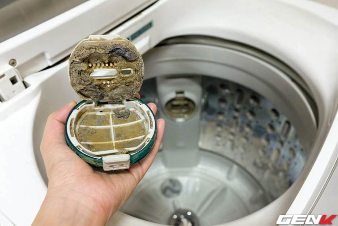 Tò mò tháo cái cục này trong máy giặt ra xem sau 13 năm mà tôi suýt phát ói, bạn cũng nên thử xem! - Ảnh 6.