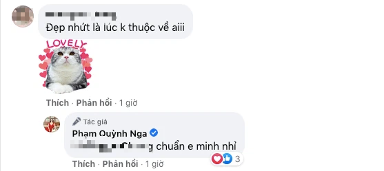 Vừa bị đồn sống chung với Việt Anh, Quỳnh Nga khẳng định hoa chưa có chủ - Ảnh 3.