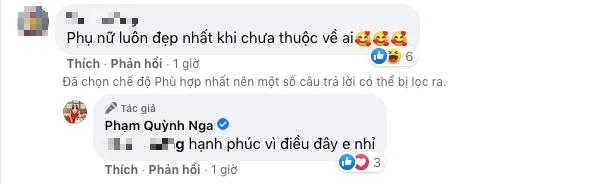 Vừa bị đồn sống chung với Việt Anh, Quỳnh Nga khẳng định hoa chưa có chủ - Ảnh 4.