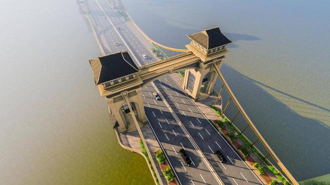 Cầu 8.900 tỷ nối quận Hoàn Kiếm với Long Biên: Chắp vá, như một bản sao tồi tàn của cầu thế kỷ 17, 18 - Ảnh 1.