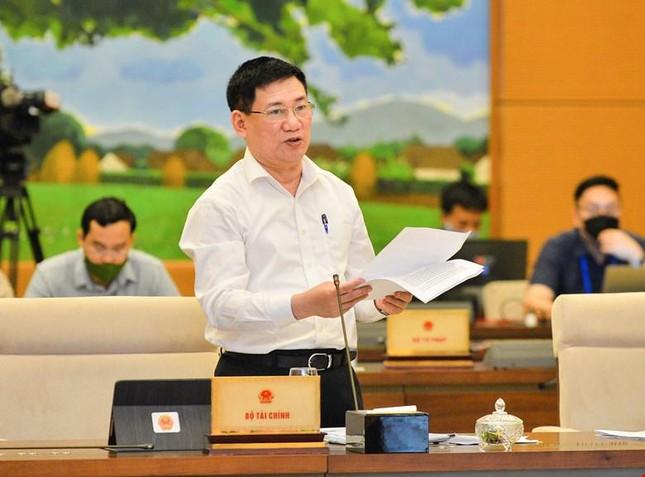 Bộ trưởng Tài chính Hồ Đức Phớc: Ngân sách sao mà trống rỗng được  - Ảnh 1.