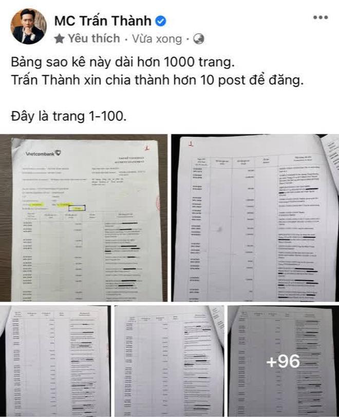 Xuất hiện những trang sao kê đầu tiên của Thuỷ Tiên, netizen nhanh chóng so sánh với Trấn Thành: Liệu có gì khác biệt? - Ảnh 3.