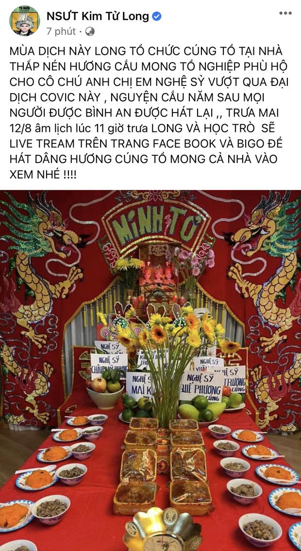 Showbiz Việt ngày Giỗ tổ sân khấu: Lý Hải - Khánh Vân và dàn sao Việt dâng lễ tại gia, Nam Thư muốn khóc vì tủi thân - Ảnh 11.