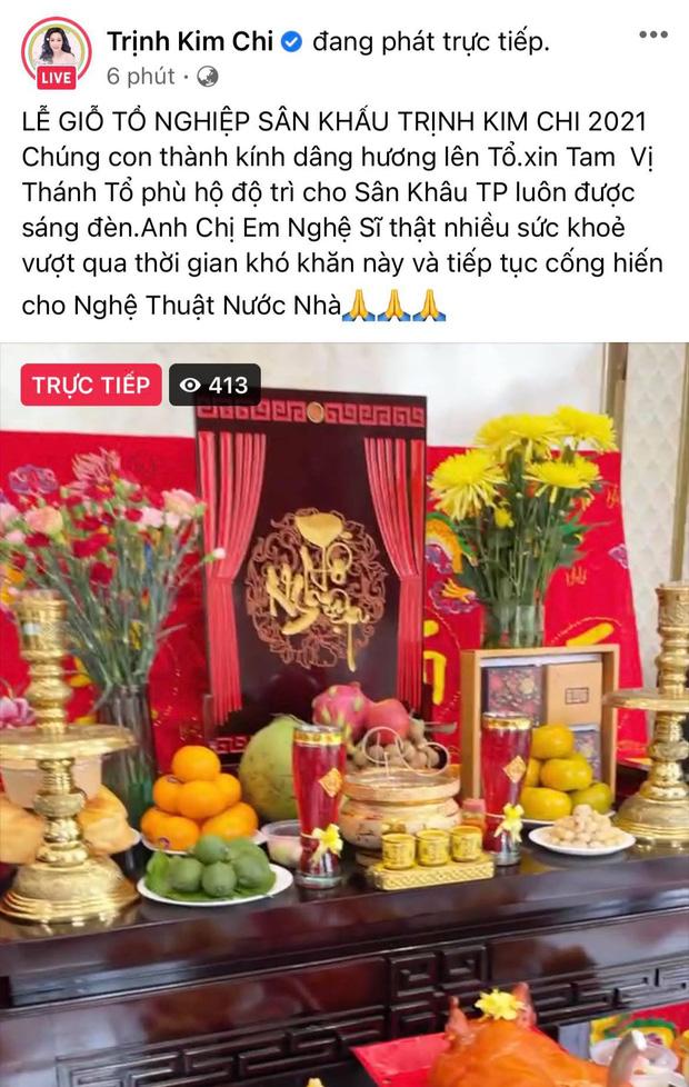 Showbiz Việt ngày Giỗ tổ sân khấu: Lý Hải - Khánh Vân và dàn sao Việt dâng lễ tại gia, Nam Thư muốn khóc vì tủi thân - Ảnh 15.