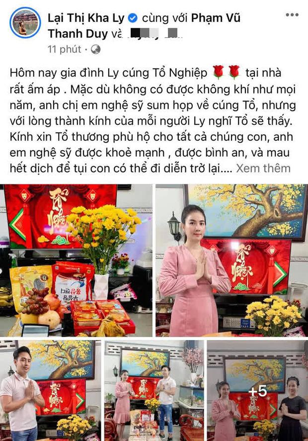 Showbiz Việt ngày Giỗ tổ sân khấu: Lý Hải - Khánh Vân và dàn sao Việt dâng lễ tại gia, Nam Thư muốn khóc vì tủi thân - Ảnh 22.
