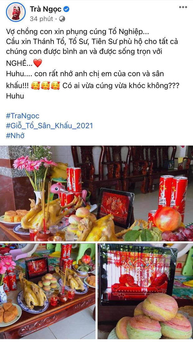 Showbiz Việt ngày Giỗ tổ sân khấu: Lý Hải - Khánh Vân và dàn sao Việt dâng lễ tại gia, Nam Thư muốn khóc vì tủi thân - Ảnh 30.