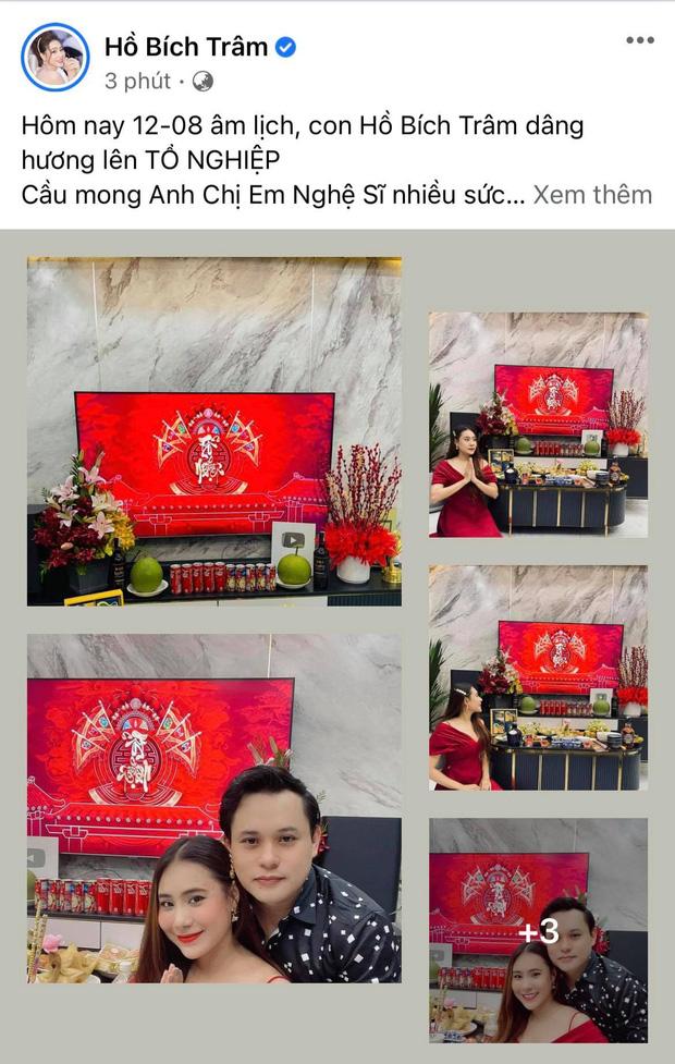Showbiz Việt ngày Giỗ tổ sân khấu: Lý Hải - Khánh Vân và dàn sao Việt dâng lễ tại gia, Nam Thư muốn khóc vì tủi thân - Ảnh 32.