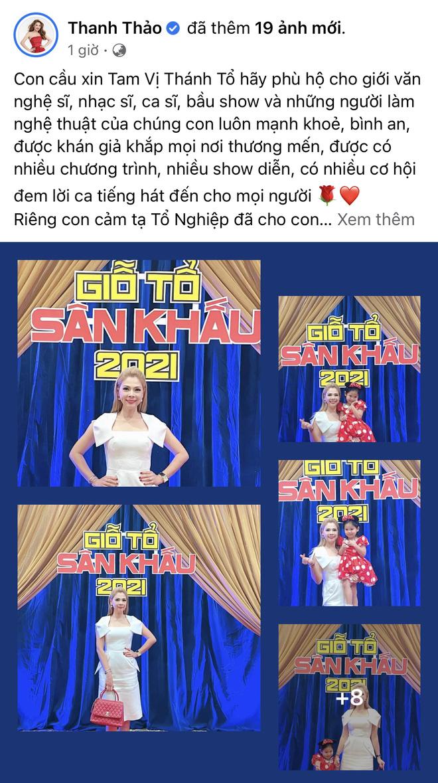 Showbiz Việt ngày Giỗ tổ sân khấu: Lý Hải - Khánh Vân và dàn sao Việt dâng lễ tại gia, Nam Thư muốn khóc vì tủi thân - Ảnh 40.