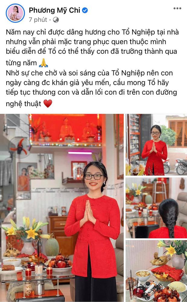 Showbiz Việt ngày Giỗ tổ sân khấu: Lý Hải - Khánh Vân và dàn sao Việt dâng lễ tại gia, Nam Thư muốn khóc vì tủi thân - Ảnh 8.