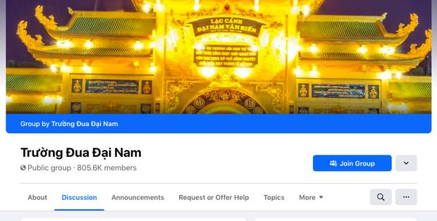 Xuất hiện nhóm Facebook Trường đua Đại Nam của bà Phương Hằng có hơn 800k thành viên, nguồn gốc hết sức phẫn nộ! - Ảnh 2.