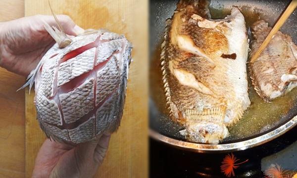 Trước khi rán, ướp chút nguyên liệu này đảm bảo cá vàng giòn, không sát chảo - Ảnh 1.