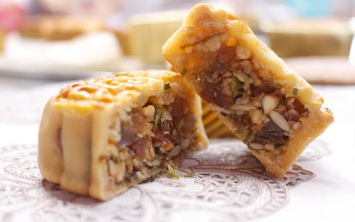Cách làm bánh Trung thu nhân thập cẩm chuẩn vị truyền thống - Ảnh 7.