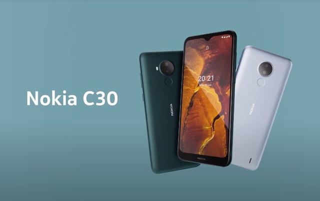 Nokia C30 ra mắt tại Việt Nam: Pin dung lượng khủng 6.000 mAh, giá dưới 3 triệu đồng - Ảnh 1.