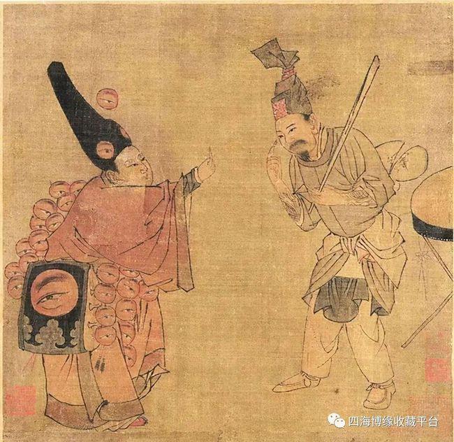 Phóng to bức tranh cực khó hiểu trong Bảo tàng Cố Cung, hậu thế rùng mình: Người đàn ông này có 27 con mắt! - Ảnh 1.
