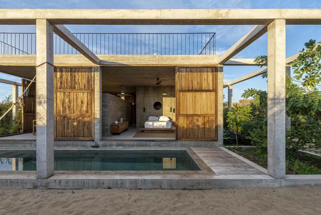 Mẫu nhà mái bằng đơn giản, tiết kiệm lại chống được gió bão - Ảnh 10.