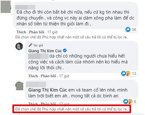 Giang Kim Cúc công bố sao kê tốn hơn 2,5 triệu tiền giấy in: Minh bạch tài chính không hề khó, mong mọi người mở lòng bao dung - Ảnh 3.