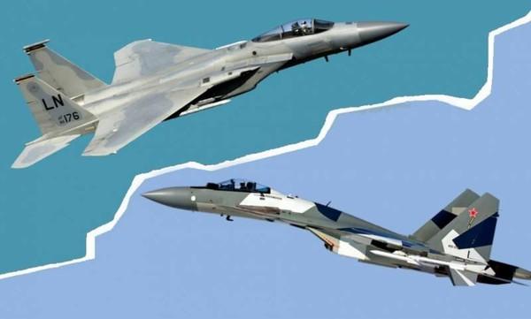 Su-35 Nga và F-15 Mỹ đại chiến: Tinh hoa vũ khí hàng đầu thế giới đọ sức - Ảnh 2.