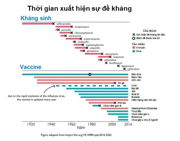 Lo ngại kháng vaccine giống kháng kháng sinh: 2 điểm khác biệt về cơ chế tấn công, giải đáp nỗi lo của vạn người - Ảnh 2.