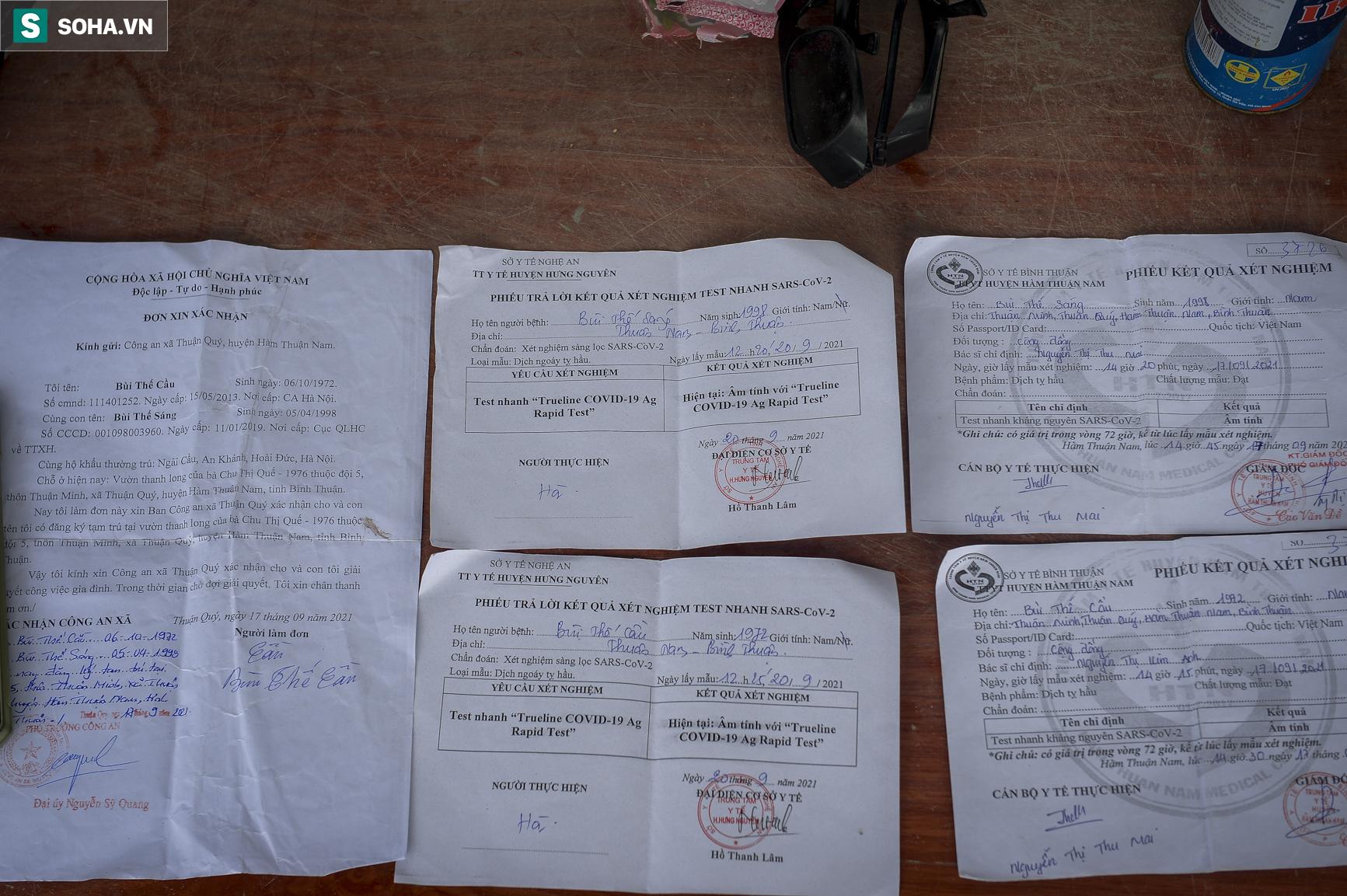 Đi xe máy hơn 1.500km ra Hà Nội, 2 bố con ăn ngủ tại chốt Cầu Giẽ chờ người đưa đi cách ly - Ảnh 11.