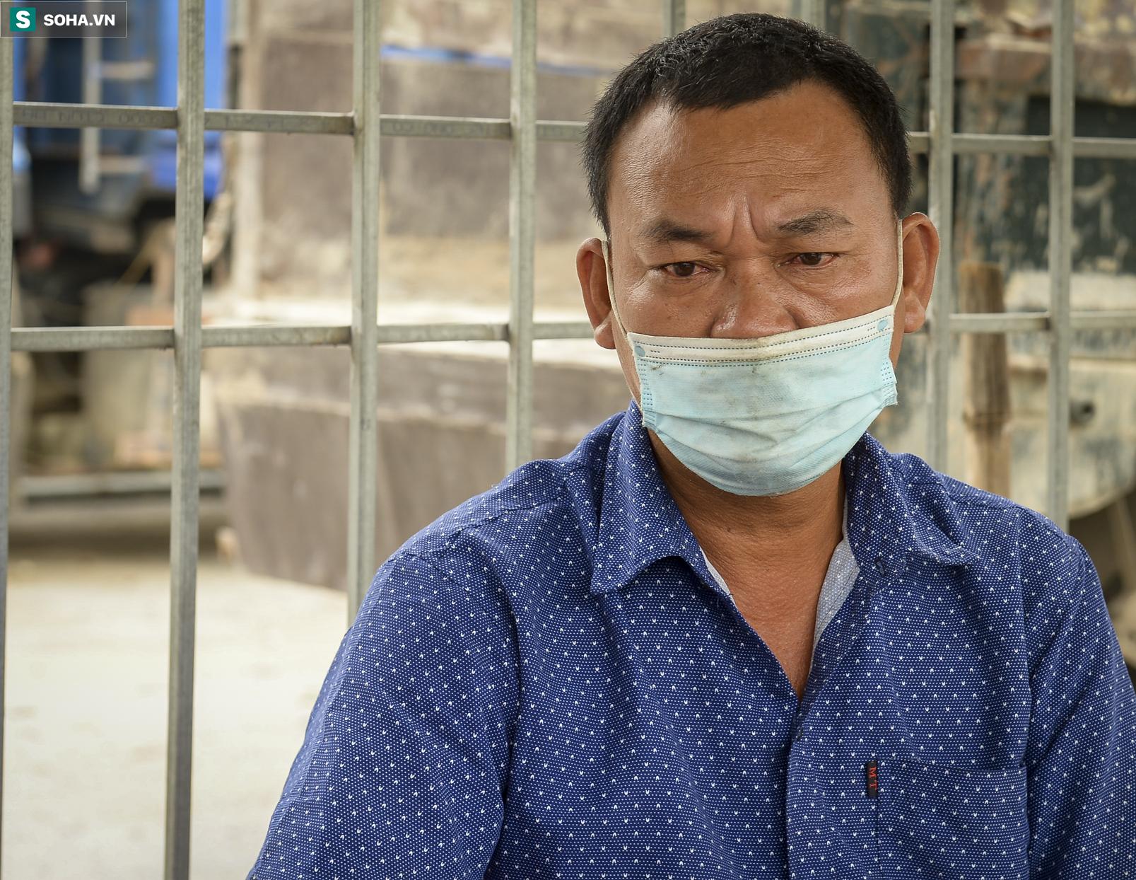 Đi xe máy hơn 1.500km ra Hà Nội, 2 bố con ăn ngủ tại chốt Cầu Giẽ chờ người đưa đi cách ly - Ảnh 10.