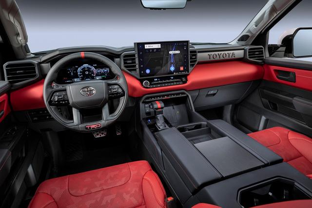 Đây là Toyota Tundra TRD Pro - Bán tải full đồ chơi đấu Ford F-150 Raptor - Ảnh 6.