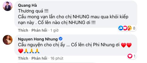 Người thân mất ngủ, loạt sao Việt lo lắng cho tình hình sức khỏe của Phi Nhung - Ảnh 4.