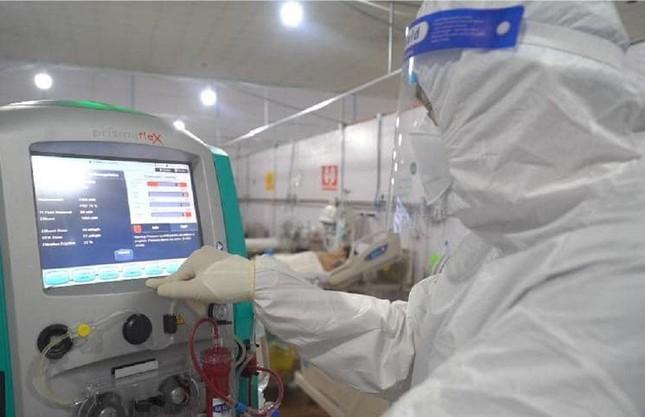 Bệnh viện 3 trong 1 đầu tiên ở TPHCM tối ưu hóa điều trị F0 - Ảnh 2.