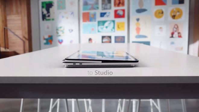 Microsoft ra mắt Surface Laptop Studio: Thiết kế biến hoá từ laptop sang tablet - Ảnh 3.