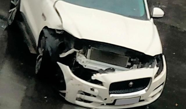 Mercedes-Benz GLC va chạm Jaguar F-Pace ngày thứ 2 nới lỏng giãn cách: 1 tấm hình mà thấy kha khá tiền - Ảnh 4.