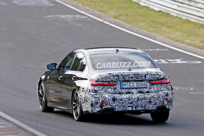 Bản thiết kế của BMW 3-Series 2022 rò rỉ khiến fan thở phào vì không có chi tiết này - Ảnh 12.