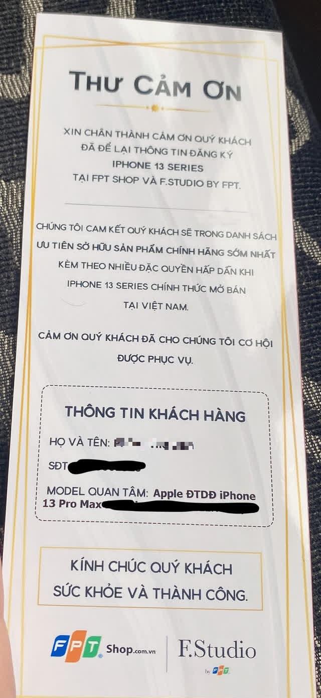 Người tố FPT shop bất ngờ quay xe, khen nức nở và đặt mua iPhone 13 sau vụ nhân viên đánh cắp dữ liệu - Ảnh 2.