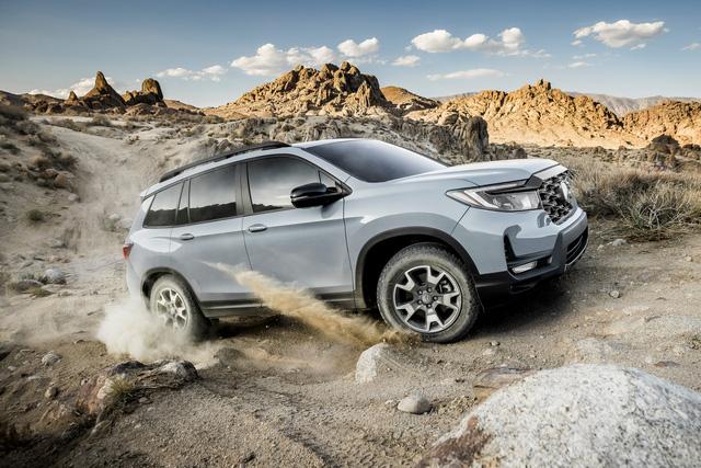 Ra mắt Honda Passport 2022 - SUV cỡ trung cạnh tranh Hyundai Santa Fe và Kia Sorento - Ảnh 1.