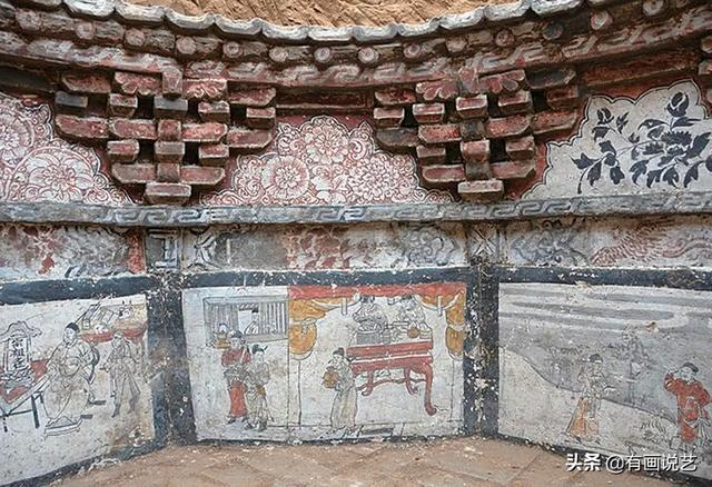 Phát hiện 7 bức bích họa trên tường ngôi mộ cổ, 1 bức trong đó khiến chuyên gia rùng mình: Chuyện như vậy cũng dám làm sao? - Ảnh 4.
