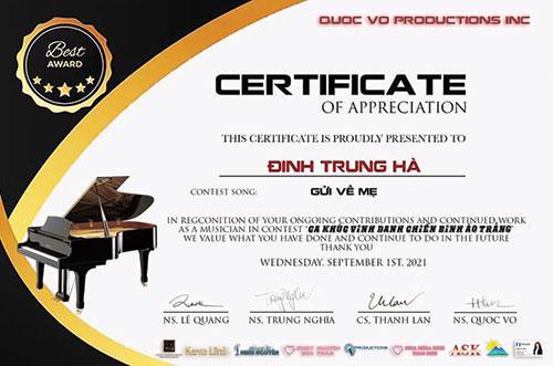 Ông chủ quán bún đậu mắm tôm nổi tiếng sáng tác bài hát về Covid-19 lọt vào chung kết cuộc thi ở Mỹ - Ảnh 1.