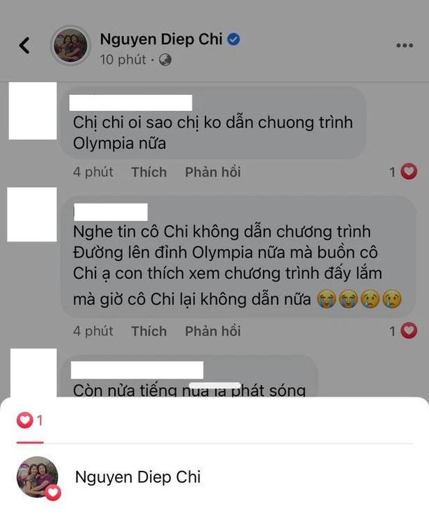 MC Diệp Chi âm thầm làm điều này khi netizen vẫn tràn vào hỏi: Vì sao không tiếp tục dẫn Olympia? - Ảnh 2.
