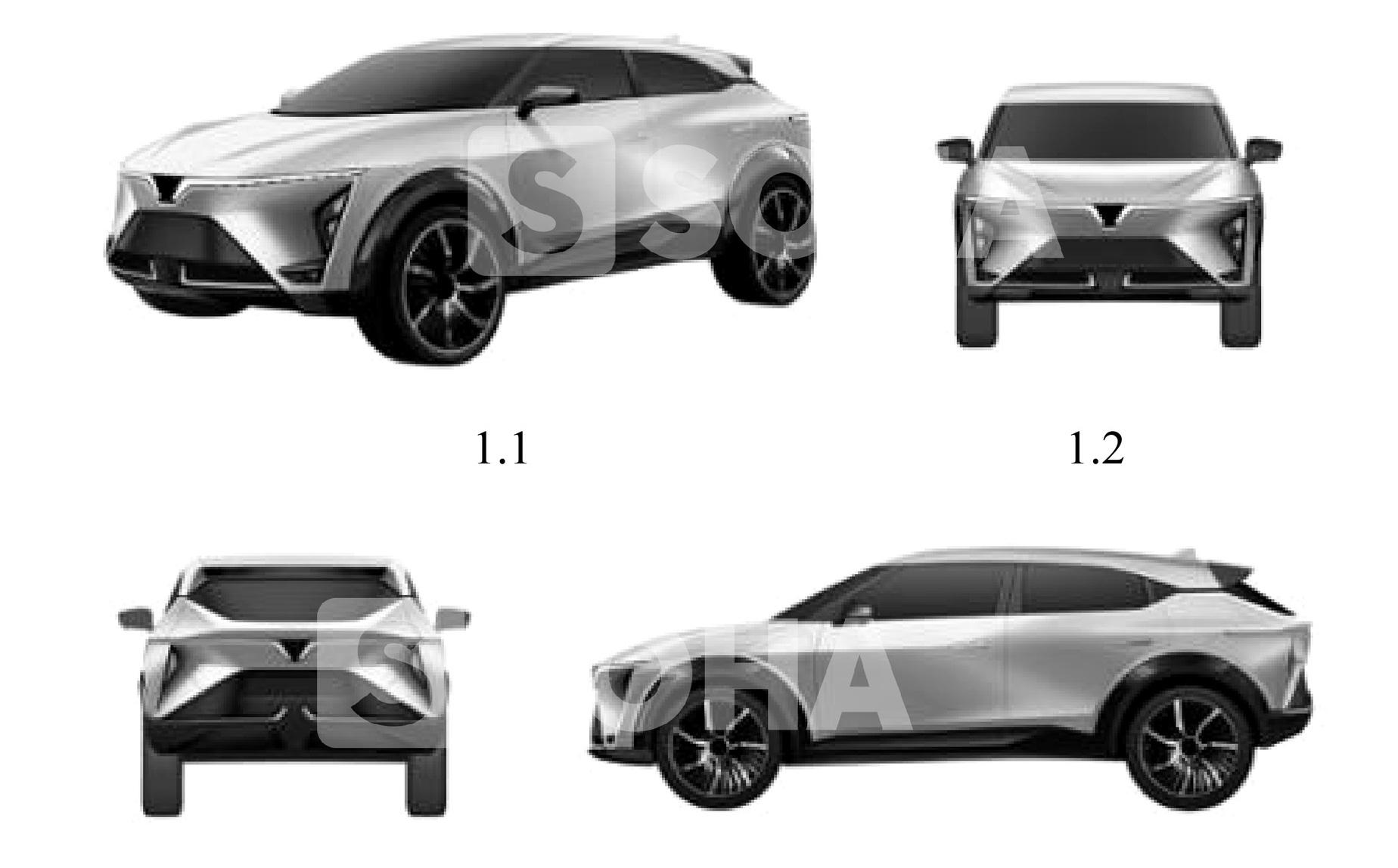 Lộ thiết kế 1 mẫu xe mới nữa của VinFast: Xuất hiện chi tiết kỳ lạ và khó hiểu - có mối liên hệ với Cadillac?