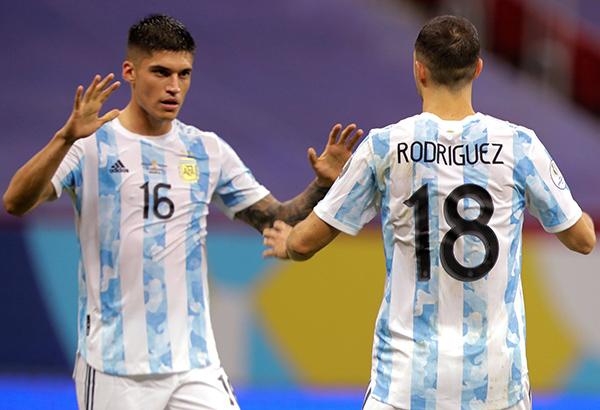 Venezuela 1-3 Argentina: Đẳng cấp của Lautaro Martinez! - Ảnh 1.