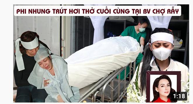 Họ bất chấp đau đớn của người thân, trục lợi trên cái chết của Phi Nhung - Ảnh 3.